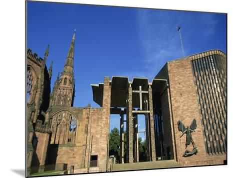 Cathedral Church of St. Michael, Old and New, Coventry, Warwickshire, West Midlands, England, UK-Neale Clarke-Mounted Photographic Print