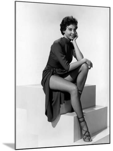 An American in Paris, Leslie Caron, 1951--Mounted Photo