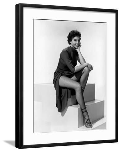 An American in Paris, Leslie Caron, 1951--Framed Art Print