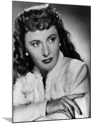 Christmas in Connecticut, Barbara Stanwyck, 1945--Mounted Photo