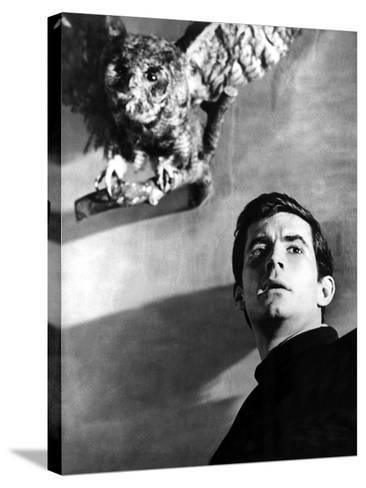 Psycho, Anthony Perkins, 1960--Stretched Canvas Print