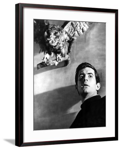 Psycho, Anthony Perkins, 1960--Framed Art Print