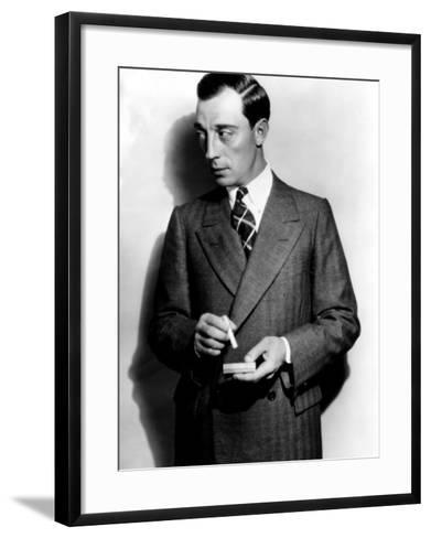 Buster Keaton, 1929--Framed Art Print