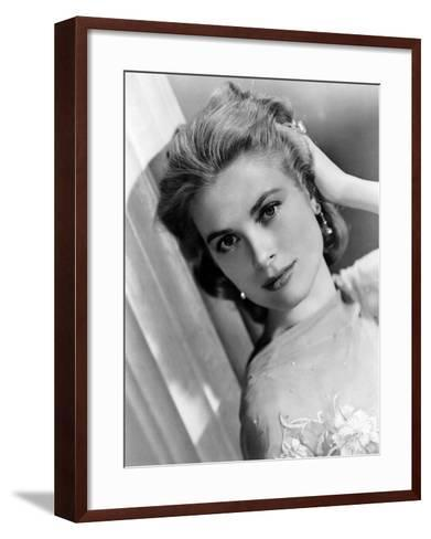 Grace Kelly, c.1950s--Framed Art Print