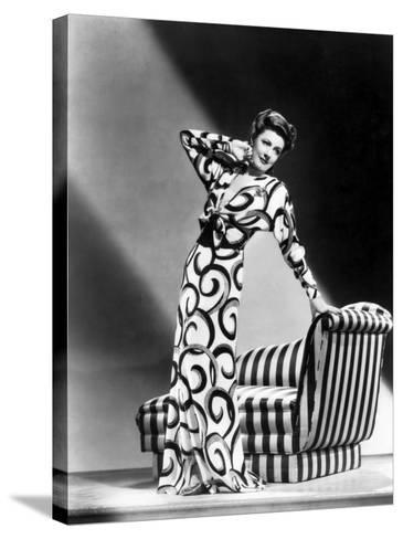 Irene Dunne, 1941--Stretched Canvas Print