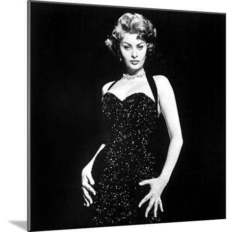 Publicity Shot of Sophia Loren Used to Promote Pride and the Passion, 1957--Mounted Photo
