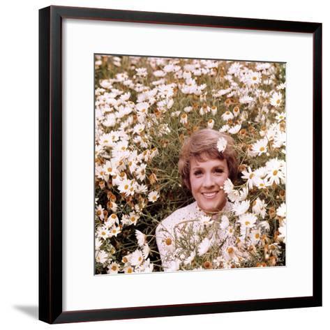 Julie Andrews Hour, Julie Andrews, 1972-1973--Framed Art Print