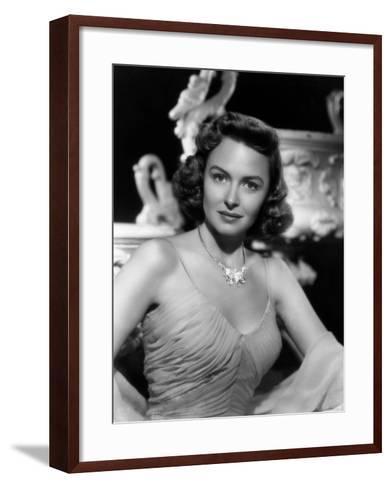 Chicago Deadline, Donna Reed, 1949--Framed Art Print