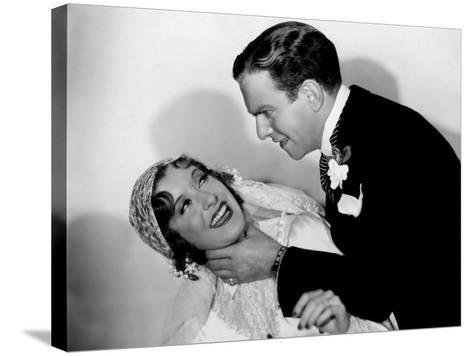 Many Happy Returns, Gracie Allen, George Burns, 1934--Stretched Canvas Print