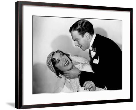 Many Happy Returns, Gracie Allen, George Burns, 1934--Framed Art Print