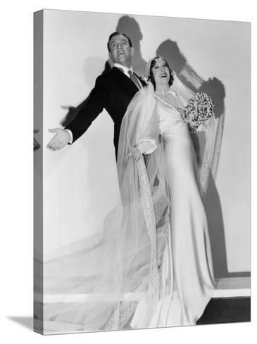 Many Happy Returns, George Burns, Gracie Allen, 1934--Stretched Canvas Print