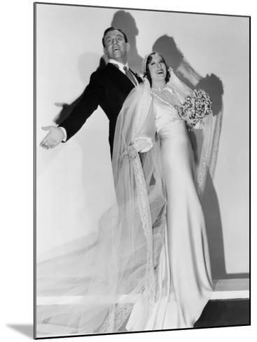 Many Happy Returns, George Burns, Gracie Allen, 1934--Mounted Photo