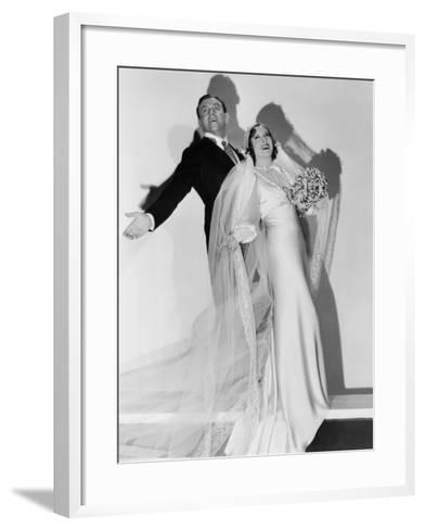 Many Happy Returns, George Burns, Gracie Allen, 1934--Framed Art Print