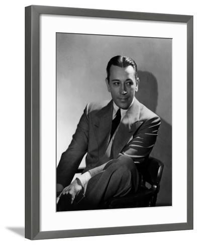 They Drive by Night, George Raft, 1940--Framed Art Print