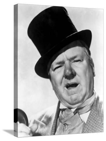 You Can't Cheat an Honest Man, W.C. Fields, 1939--Stretched Canvas Print
