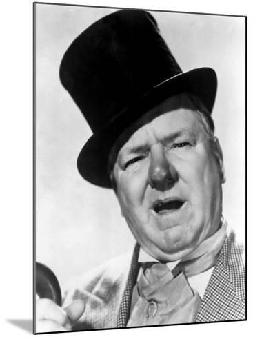 You Can't Cheat an Honest Man, W.C. Fields, 1939--Mounted Photo