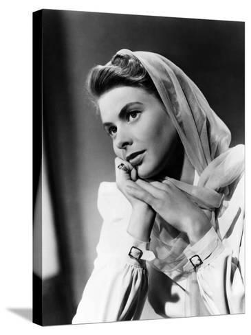 Casablanca, Ingrid Bergman, 1942--Stretched Canvas Print