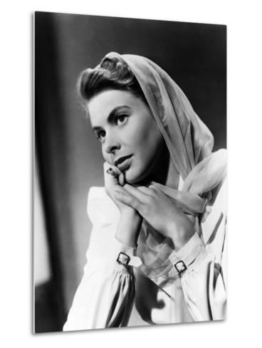 Casablanca, Ingrid Bergman, 1942--Metal Print