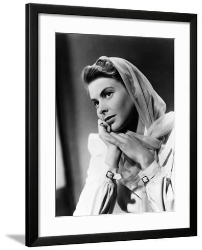 Casablanca, Ingrid Bergman, 1942--Framed Art Print