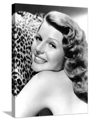 Cover Girl, Rita Hayworth, 1944--Stretched Canvas Print