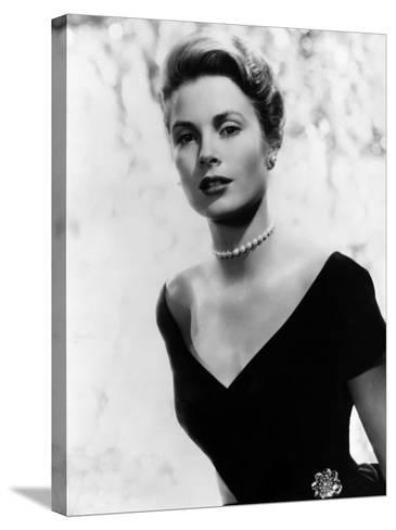 Grace Kelly, 1956--Stretched Canvas Print