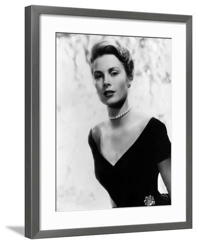Grace Kelly, 1956--Framed Art Print