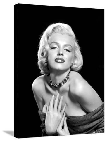 Marilyn Monroe--Stretched Canvas Print