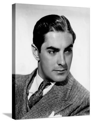 Tyrone Power, c.1940--Stretched Canvas Print