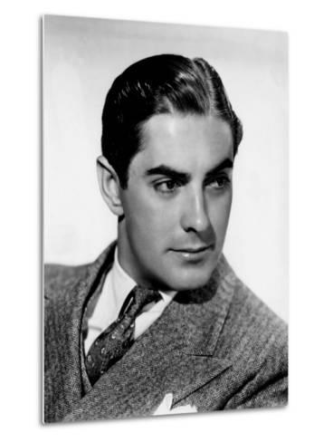 Tyrone Power, c.1940--Metal Print