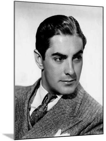 Tyrone Power, c.1940--Mounted Photo