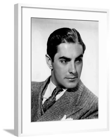 Tyrone Power, c.1940--Framed Art Print