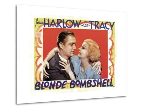 Blonde Bombshell, Lee Tracy, Jean Harlow 1933--Metal Print