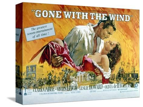 Gone with the Wind, Clark Gable, Vivien Leigh, 1939--Stretched Canvas Print