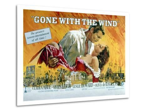 Gone with the Wind, Clark Gable, Vivien Leigh, 1939--Metal Print