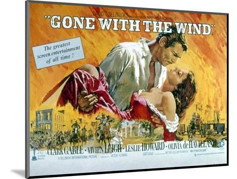 Gone with the Wind, Clark Gable, Vivien Leigh, 1939--Mounted Photo