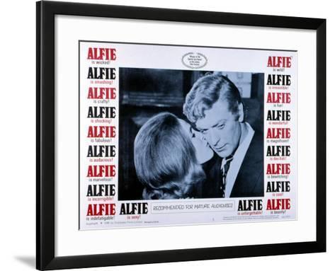 Alfie, Michael Caine, 1966--Framed Art Print