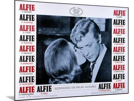 Alfie, Michael Caine, 1966--Mounted Photo