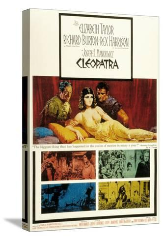 Cleopatra, Elizabeth Taylor, 1963--Stretched Canvas Print