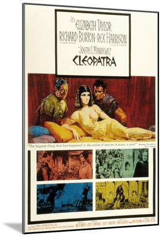 Cleopatra, Elizabeth Taylor, 1963--Mounted Photo