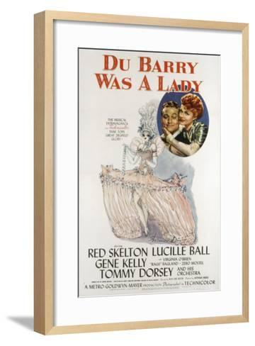 Du Barry Was a Lady, Red Skelton, Lucille Ball, 1943--Framed Art Print