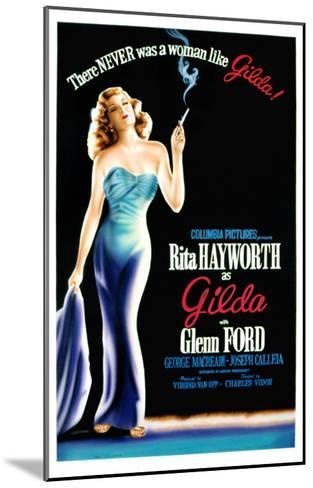 Gilda, Rita Hayworth, 1946--Mounted Photo