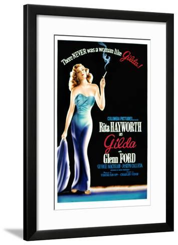 Gilda, Rita Hayworth, 1946--Framed Art Print