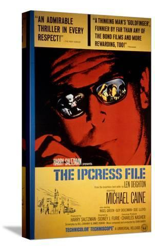 The Ipcress File, Michael Caine, 1965--Stretched Canvas Print