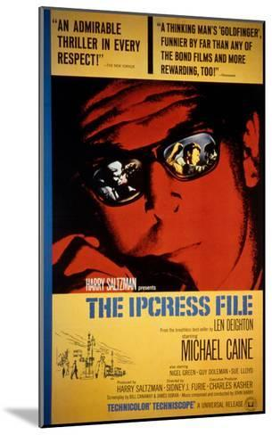 The Ipcress File, Michael Caine, 1965--Mounted Photo