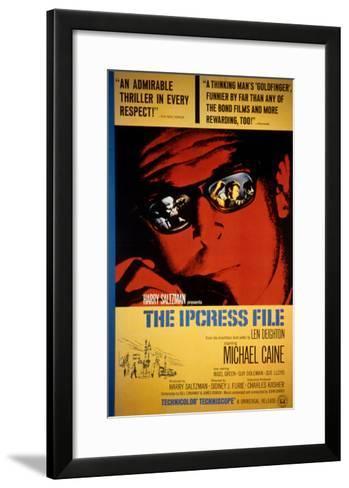 The Ipcress File, Michael Caine, 1965--Framed Art Print