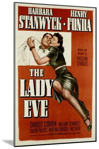 The Lady Eve, Henry Fonda, Barbara Stanwyck, 1941--Mounted Photo