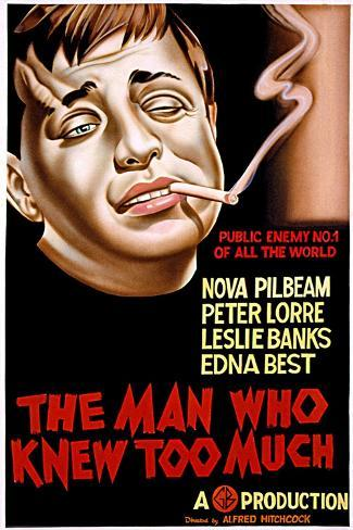 The Man Who Knew Too Much, Peter Lorre, 1934--Stretched Canvas Print