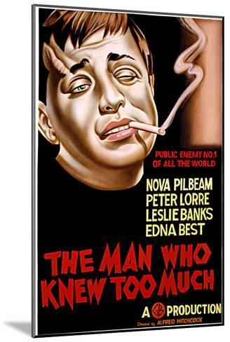 The Man Who Knew Too Much, Peter Lorre, 1934--Mounted Photo