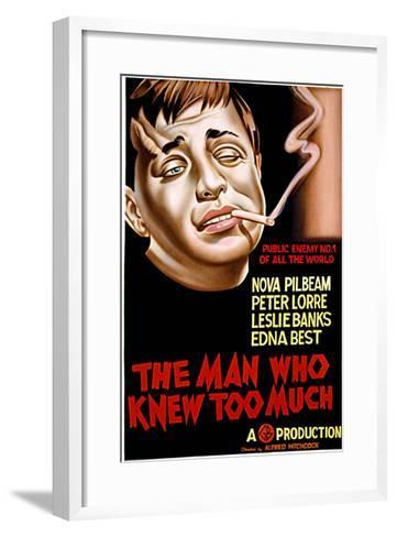 The Man Who Knew Too Much, Peter Lorre, 1934--Framed Art Print