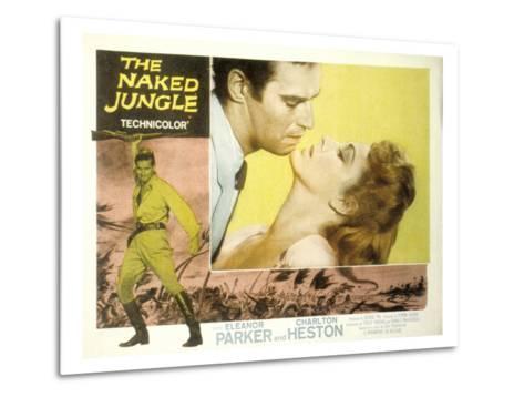The Naked Jungle, Charlton Heston, Eleanor Parker, 1954--Metal Print